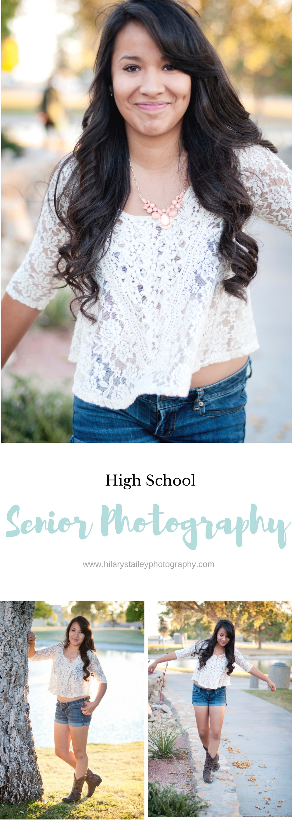 High School Senior Girl Photography @hilarystaileyphotography.com